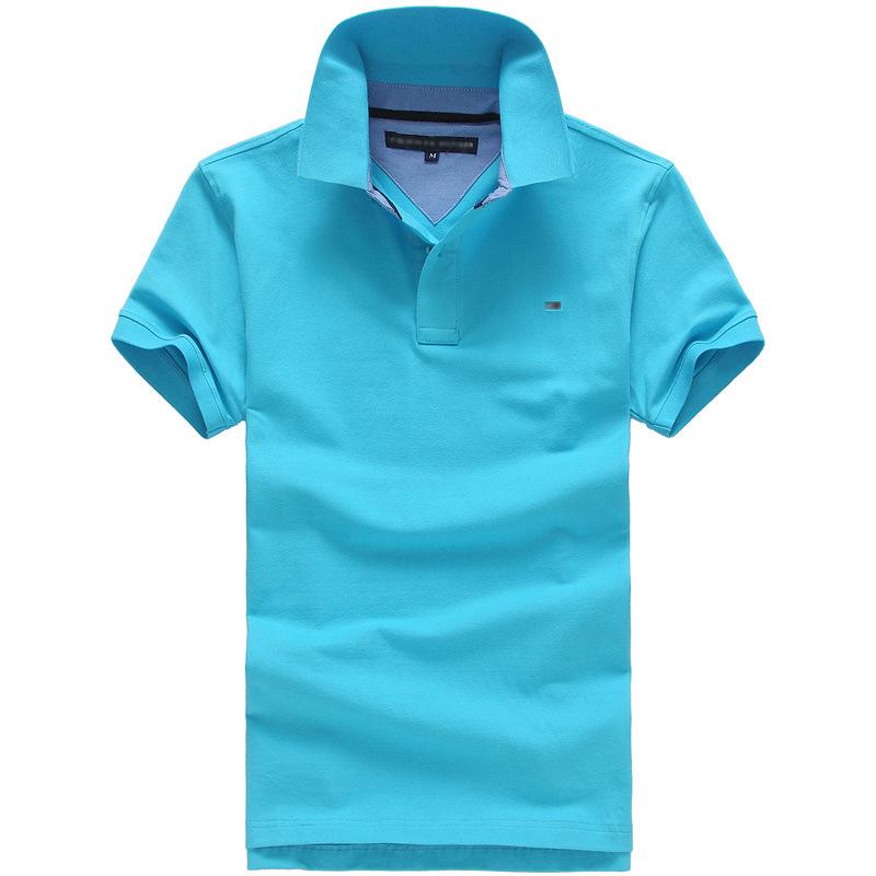 Custom men 39 s high quality custom logo can be printed polo for High quality custom shirts