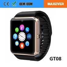 1.54 Touch Screen BT Hand Watch Running Watch Mobie Phone Smartwatch gt 08