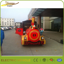 New coming scenic tourism awesome electric train CE certification
