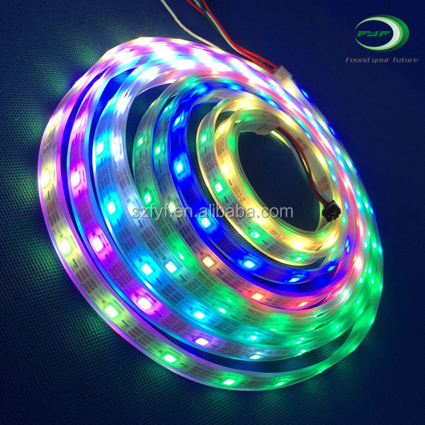 Outdoor led chasing christmas strip lights popular dmx ws2811 dmx controller