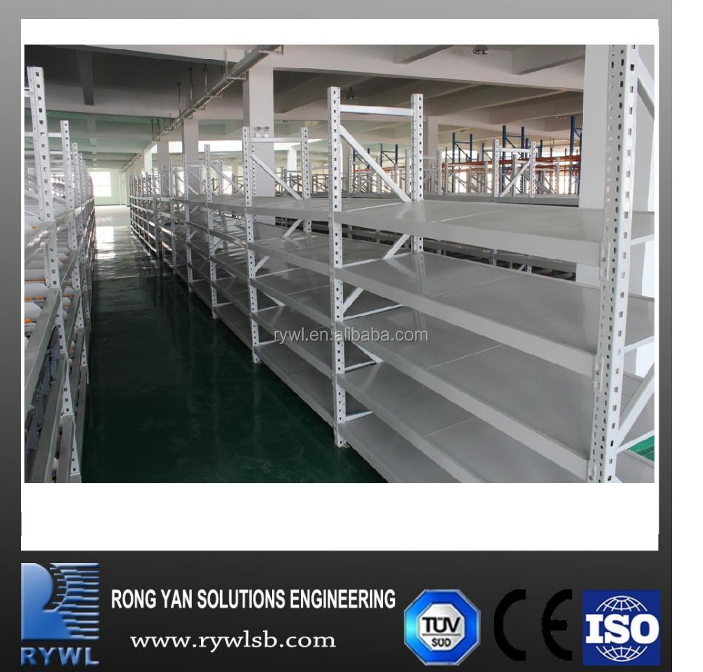 industrial factory shelves for storage warehouse steel shelving