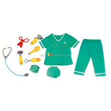 Surgical gown Pet doctor Halloween uniform cosplay career costumes for kid