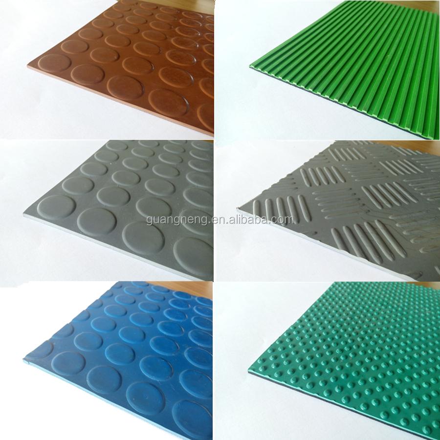 Non Slip Rubber Floor Tiles : Non asbestos rubber flooring anti slip industrial paver