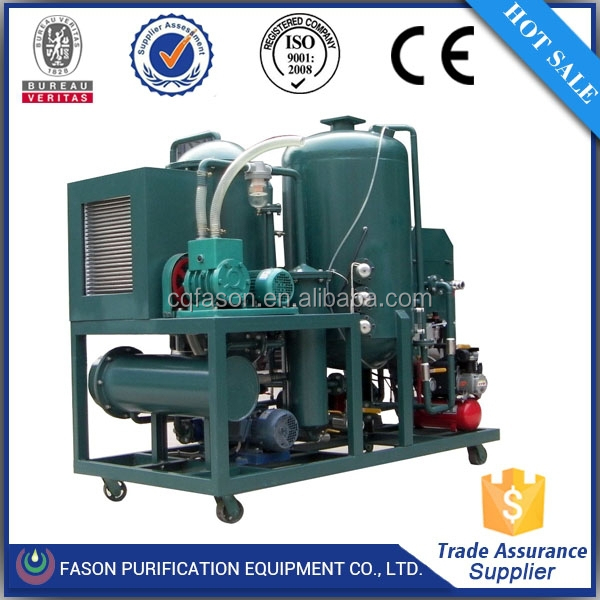 ISO certificated DTS eries Black Car Oil Recycling Machine/ Oil Purification/ Used Oil Reprocessing
