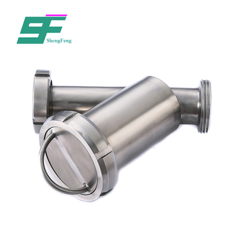 Factory wholesale high quality cheap price stainless steel y type sanitary filter
