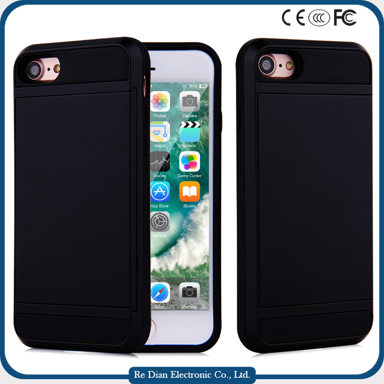 Good quality wholesale sublimation cell phone cases blanks for iPhone 7