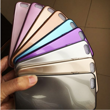 2016 Newest popular Flexible Soft Metallic UV Inner Paint TPU waterproof case for xiaomi mi4i