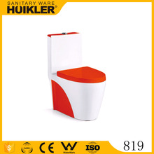 819 Quality Commode Classic design ceramic red bathroom toilet factory price