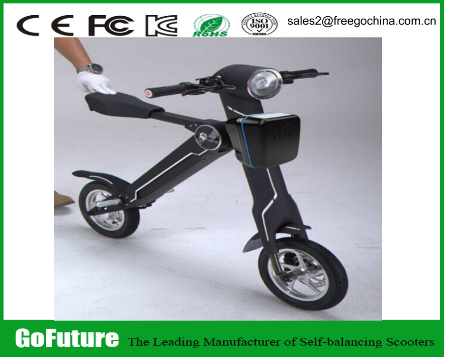 Yes Foldable 36v Mini Folding Electric Bike Foldable Electric Scooter with bluetooth/alarm/USB charger/headlight/display