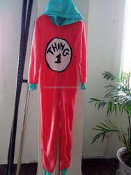 High quality discount price custom soft one piece pajama for women wholesale china
