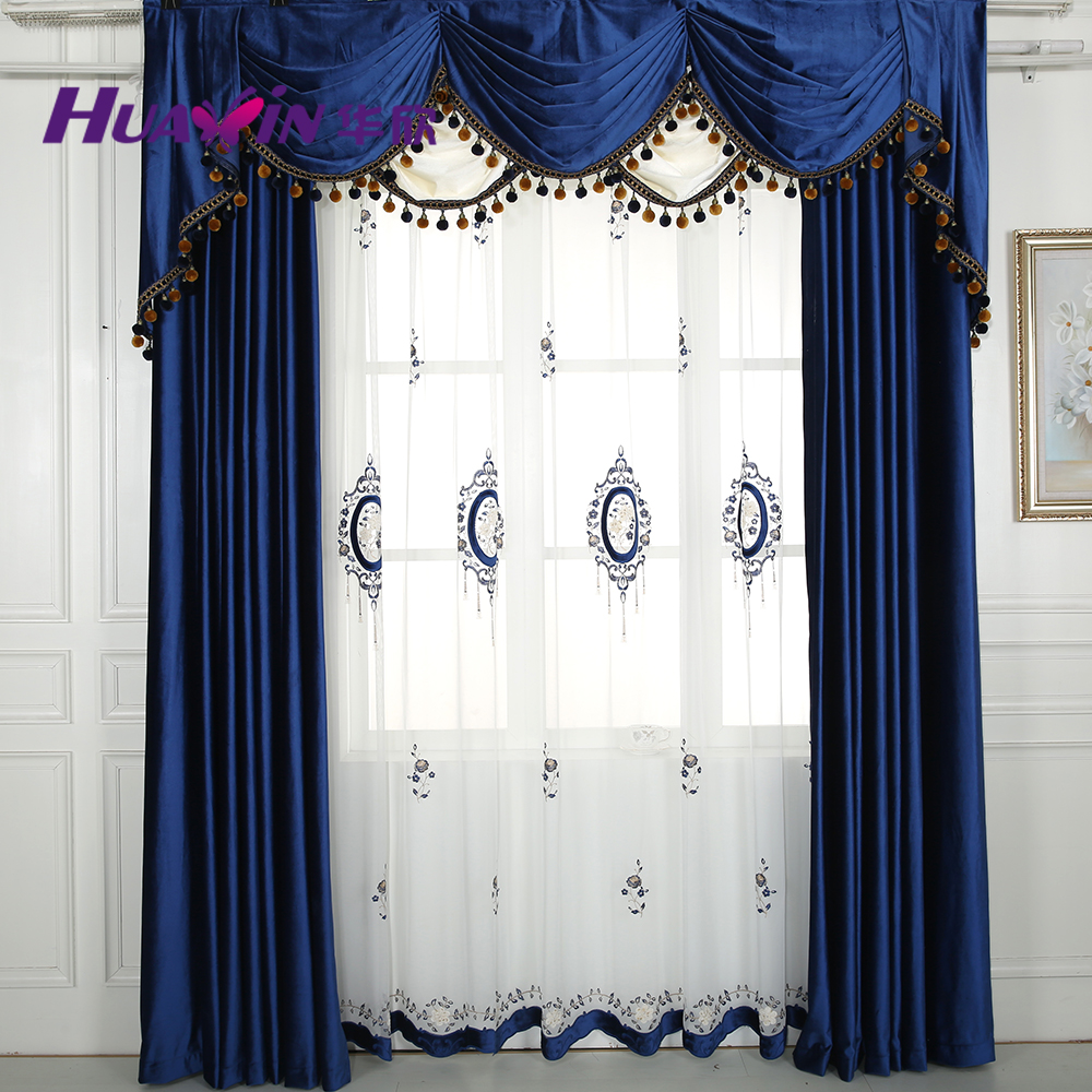 China wholesale living room curtains with beautiful for Where to buy drapes