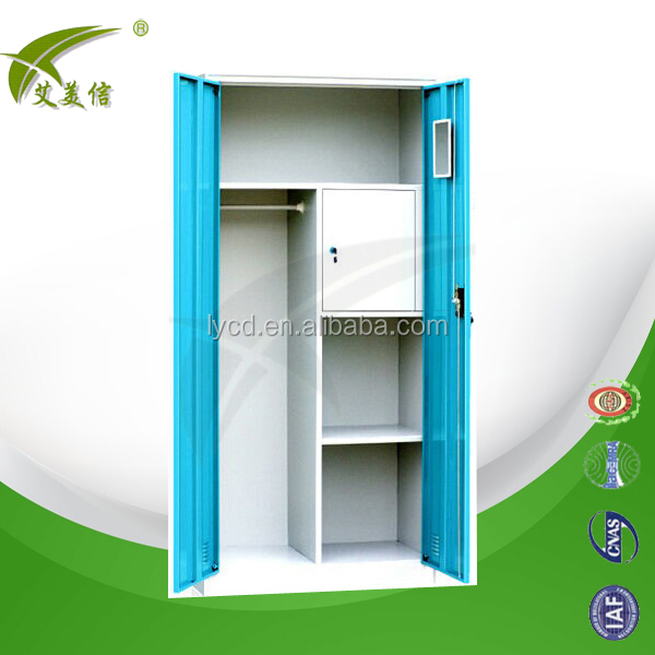 Luxury French Style Bedroom Furniture Sets Colorful Steel Wardrobe ...