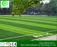 high premium and good quality synthetic turf grass /fake lawn with good drainage for soccer .WF-C-5017