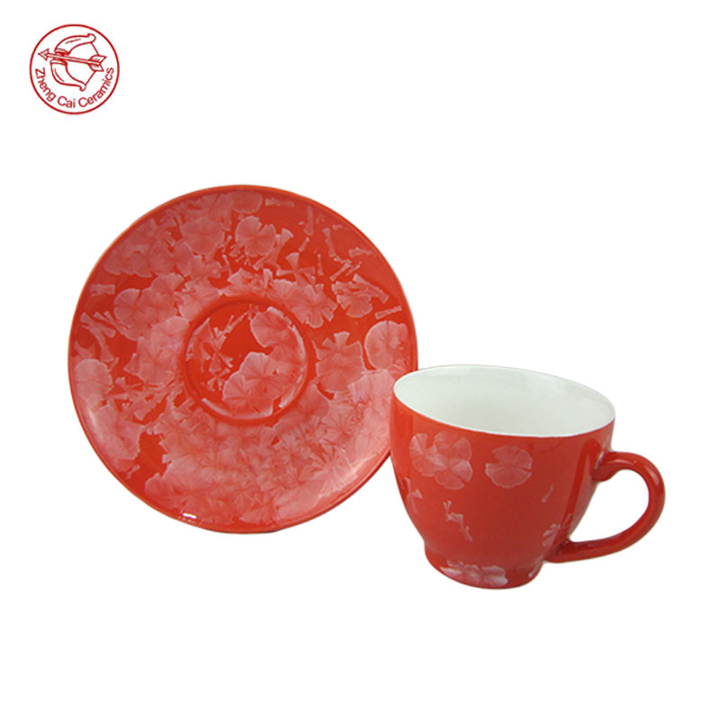 chinese flower painting large ceramic tea cups