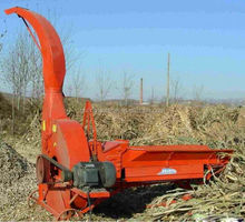 Mobile wheat grass cutter / corn shredder / agricutlutre straw crusher for sale