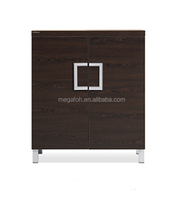 High end double door wood office file cabinet gothic cabinet furniture(FOH-JCDC01)