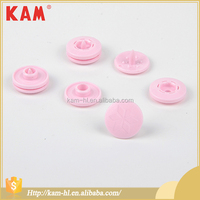Custom china KAM pink garment plastic snap button for clothing