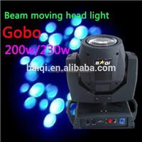 BaiQI 200w 230w sharpy beam moving head light/led spot light