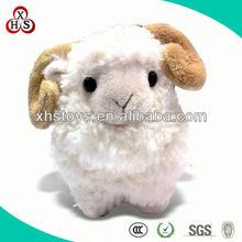 10 inch Custom Plush Stuffed lovely Small Toy Sheep For Promotion