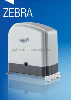 ZEBRA: Sliding Gate Operators For Residential Use