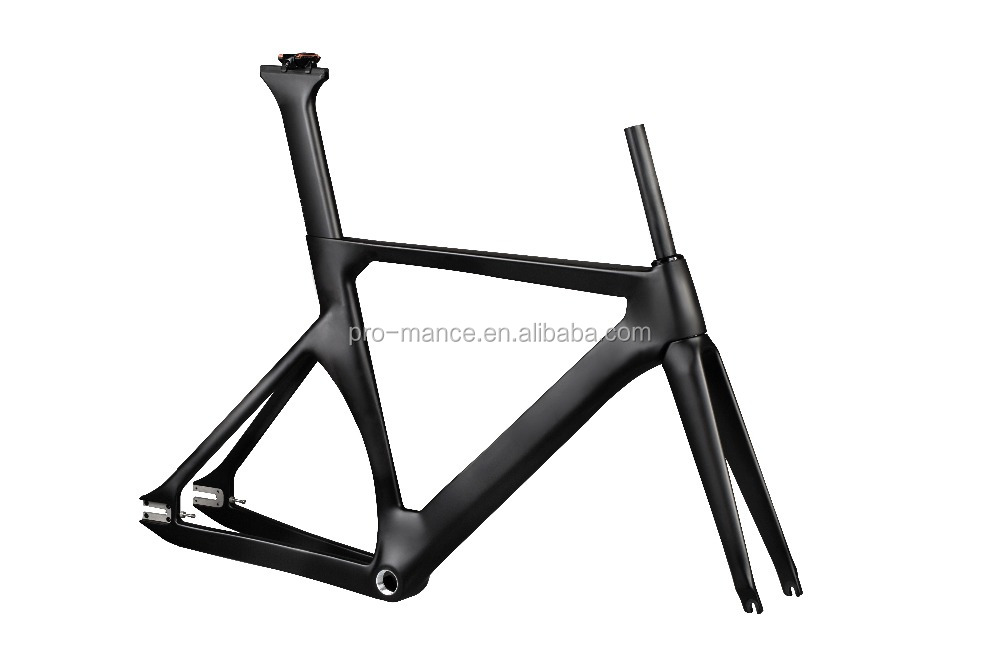 700C Aero Carbon Track Cycling Bike Road Frame with BSA (PRO-T8008)
