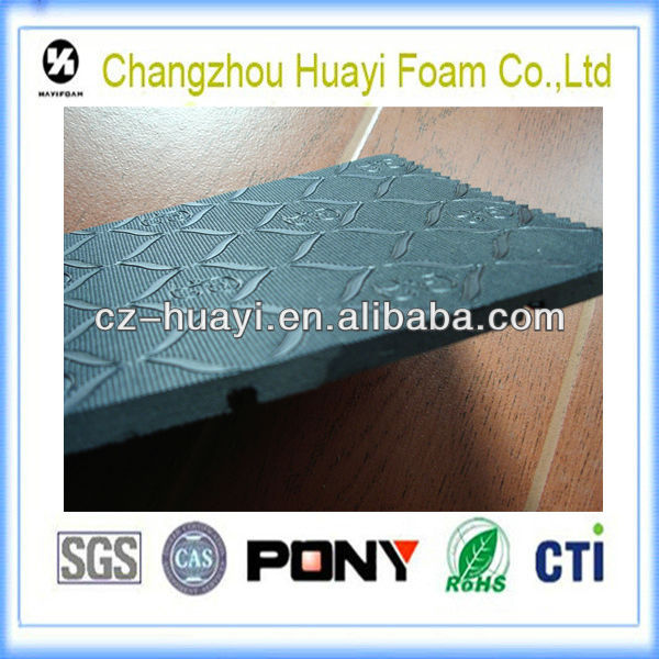 swelling waterstop sound absorbing rubber non slip rubber material