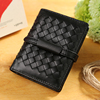 shinning material belt clip wallet, luxury wallet