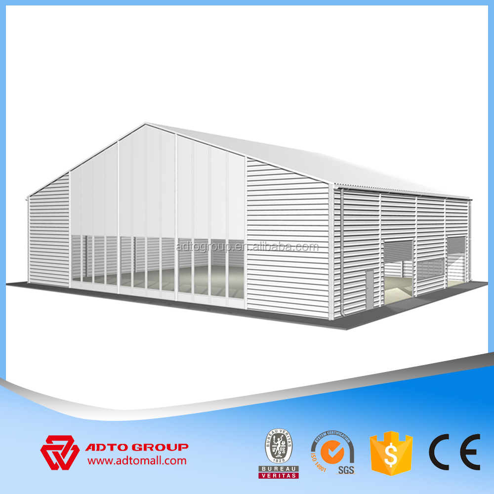 Prefabricated light steel structure warehouse, prefabricated steel structure building, prefabricated steel structure workshop