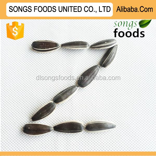 Different types of sunflower seeds in China