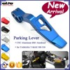 BJ-PL-YA001 Custom Motorcycle Parts CNC Aluminum Blue Parking Lever For Yamaha T-MAX500 530