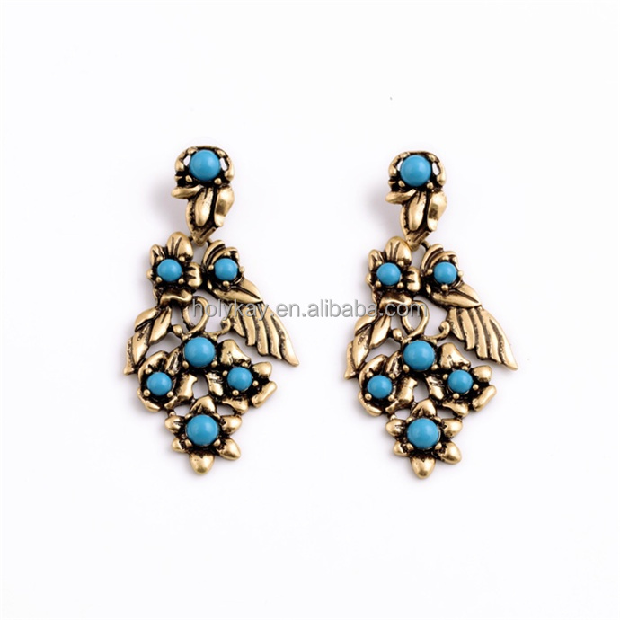 New arrival fashion gold earring, wholesale on jewellery marketplace 2015