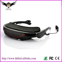 72 Inch Mobile Theatre Video Glasses Virtual Display Video Camera Sunglasses 4GB Virtual Video Glasses With High Quality