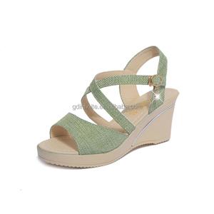 en sandales gros en Chine sandales compensées compensées Chine qv5Fn7qp