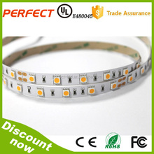 Non-Waterproof 5M SMD 5050 natural white 300 LEDS Strip Light With Power Supply Adapter