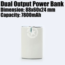 6000 7200 7800 mah Power Bank Promotional Product Fully Customized to Your Requirement Made in China