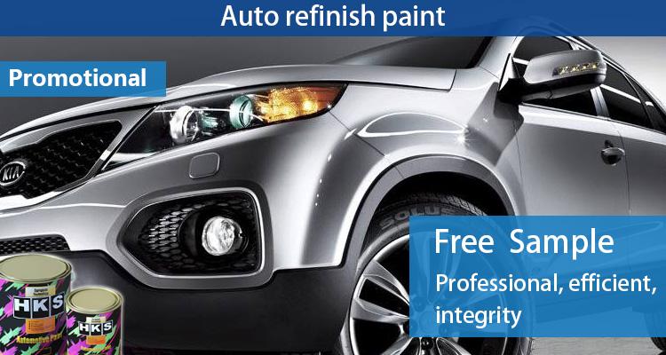 Factory price 1 천개 automotive metallic 페인트 색 대 한 차 보수 용