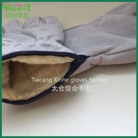 XINHE heat resistant cotton glove/AB grade