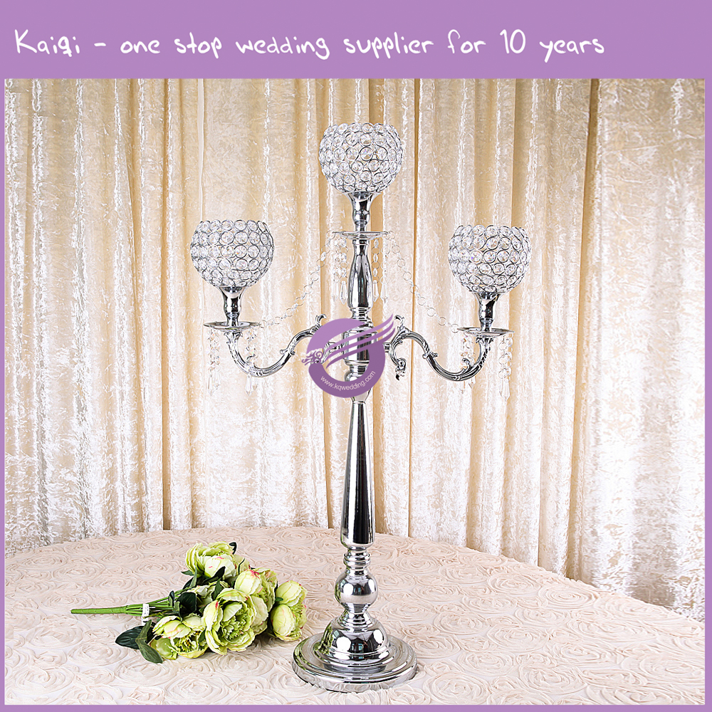 Cheap wedding decoration table centerpiece candles glass