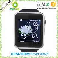 Bluetooth Smart Watch A1 v6 With Fashion Design For Iphone And Samsung Smart Phones