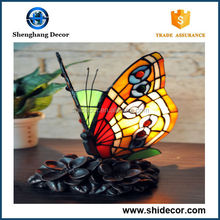 Beautiful Home Butterfly lamp Shade Tiffany Table Lamp Various Style butterfly lamp