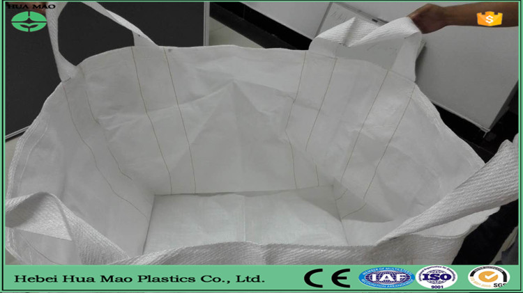 export quality ISO9001 1 ton PP bulk bag for wood pellet from Alibaba