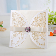 Free samples Customized Factory price banquet debut invitation card design wholesale