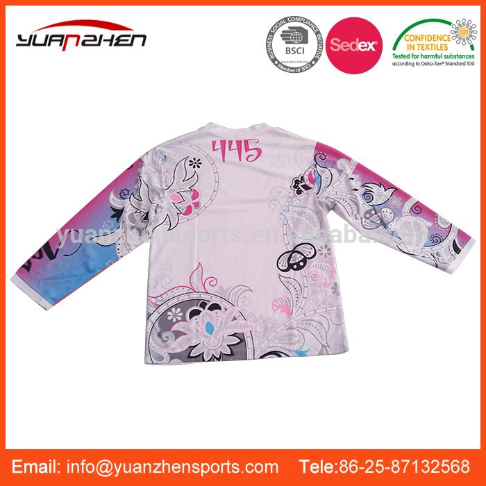 YuanZhen-ODM available various styles custom motorcycle jersey made in china
