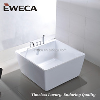 Square Bathtub, Two layer Tub, CUPC/CE Indoor Bath