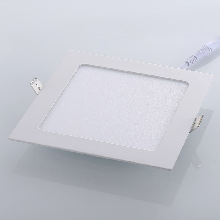 Super bright square led panel light 15w <strong>flat</strong> office indoor lighting with good price