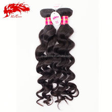non remy double drawn no tangle no shed human top grade virgin brazilan hair weave