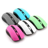 Promotion Online Shop Fruit Color Series 2.4G Wireless Mouse