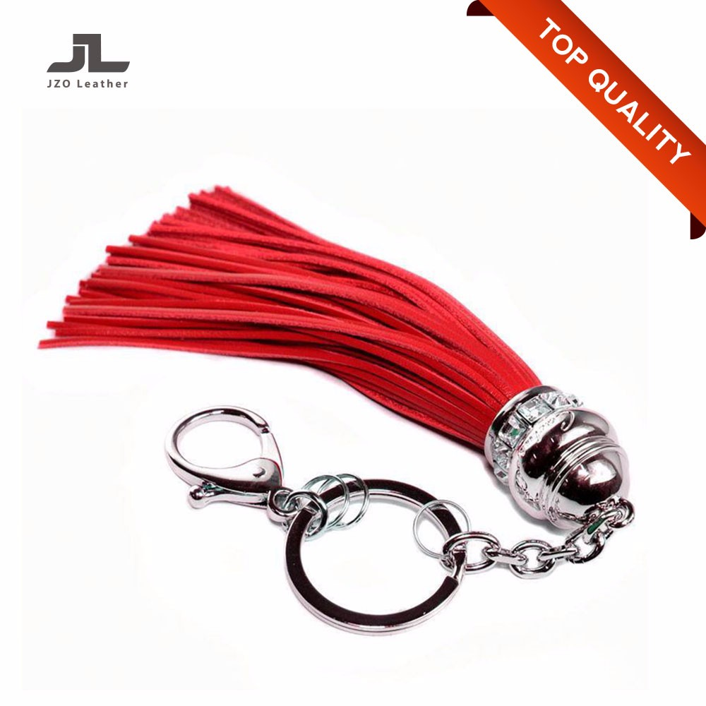 Popular and Hot Sale Ladies Leather Key Chain/Key Ring/Key Holder