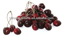 200pcs artificial cherry fake fruit faux food kitchen house party decoration