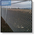 Chain link fencing PVC